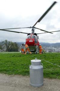 Helikopter am Brühlberg